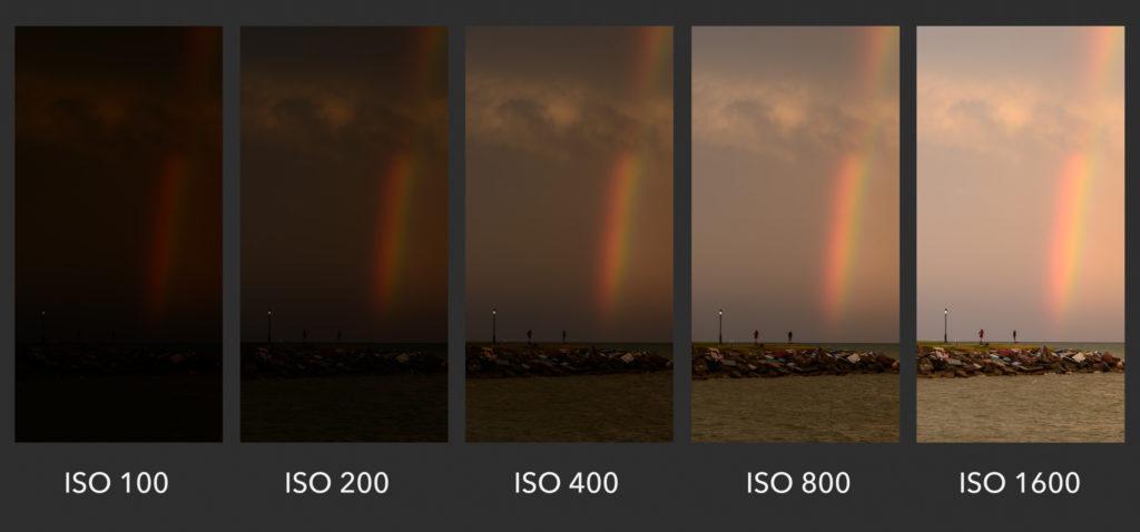 ISO Brightness Chart